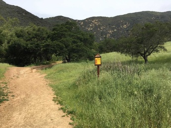 Yarnbombers Hiking Guide Hot Springs Trail Montecito